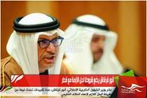 أنور قرقاش يضع شروطا لحل الأزمة مع قطر