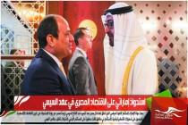 استحواذ إماراتي على الاقتصاد المصري في عهد السيسي