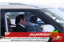 محمد بن زايد يستقبل السيسي في ابوظبي