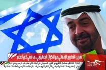 تقرير: التطبيع الإماراتي مع الكيان الصهيوني.. ما خفي كان أعظم