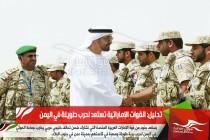تحليل: القوات الإماراتية تستعد لحرب طويلة في اليمن