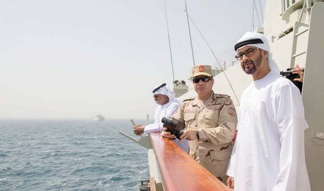 وثيقة سرية: الإمارات فقدت ثقتها بالسيسي