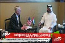 وزير الدفاع الأمريكي يزور ابوظبي في أول زياراته للشرق الأوسط