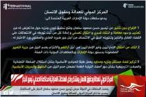 المركز الدولي للعدالة وحقوق الانسان يستنكر رفض السلطات الاماراتية محاكمة الصحفي تيسير النجار