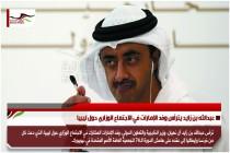 عبدالله بن زايد يترأس وفد الإمارات في الاجتماع الوزاري حول ليبيا