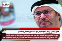 أنور قرقاش .. يصف حضور قطر في مؤتمر التعاون الإسلامي بالهامش