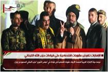 الإمارات تفرض عقوبات اقتصادية على قيادات حزب الله اللبناني