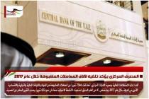 المصرف المركزي يؤكد تلقيه لآلاف المعاملات المشبوهة خلال عام 2017