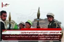 أنور قرقاش .. تحرير الحديدة سيُخضع الحوثيين