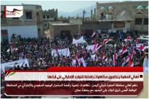 أهالي المهرة ينظمون مظاهرات رافضة للتواجد الإماراتي على أرضها