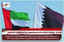 قطر .. الإمارات تمارس التضليل والهروب من المسؤوليات القانونية