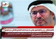 أنور قرقاش .. نرحب باتفاق السويد والذي جاء نتيجة الضغط العسكري الاماراتي على الحوثيين
