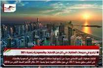 تراجع في مبيعات العقارات في كل من الإمارات والسعودية بنسبة 30%