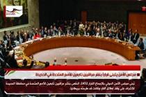 مجلس الأمن يتبنى قراراً بنشر مراقبين تابعين للأمم المتحدة في الحديدة