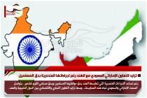 تزايد التعاون الإماراتي السعودي مع الهند رغم اجراءاتها العنصرية بحق المسلمين