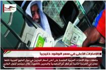 الإمارات الأعلى في سعر الوقود خليجياً