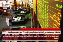 تعطيل إصدار صكوك دبي الإسلامية وخسائر لأبوظبي تقدر ب 17 مليار درهم بسبب كورونا