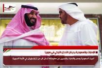 الإمارات والسعودية يدينان التدخل التركي في سوريا
