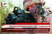 معاريف العبرية .. العلاقات العسكرية الاماراتية الاسرائيلية تزدهر