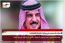 ملك البحرين في زيارة خاصة للإمارات