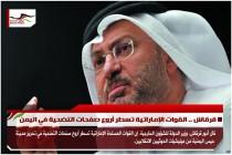 قرقاش .. القوات الإماراتية تسطر أروع صفحات التضحية في اليمن