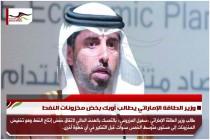 وزير الطاقة الإماراتي يطالب أوبك بخض مخزونات النفط