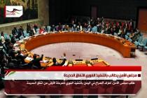 مجلس الأمن يطالب بالتنفيذ الفوري لاتفاق الحديدة