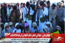 موقع يمني .. ابوظبي تسعى لنقل الفوضى الى محافظة مأرب