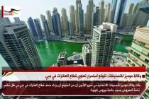 وكالة موديز للتصنيفات: تتوقع استمرار تهاوي قطاع العقارات في دبي