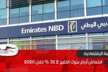 انخفاض أرباح بنوك الخليج 32.2 % خلال 2020