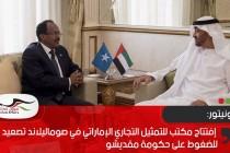 المونيتور: إفتتاح مكتب للتمثيل التجاري الإماراتي في صوماليلاند تصعيد للضغوط على حكومة مقديشو