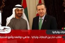 تقارب حذر بين الإمارات وتركيا .. ما هي دوافعه وأفق استمراره؟