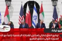 توقيع اتفاق إماراتي إسرائيلي للشراكة الإعلامية تزامناً مع الذكرى السنويّة الأولى لاتفاق التطبيع