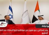 وزير إسرائيلي: ربع مليون من مواطنينا زاروا الإمارات منذ اتفاق التطبيع