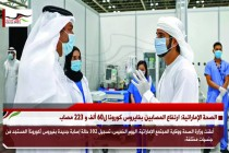 الصحة الإماراتية: ارتفاع المصابين بفايروس كورونا ل60 ألف و 223 مصاب