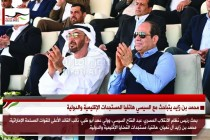 محمد بن زايد يتباحث مع السيسي هاتفيا المستجدات الإقليمية والدولية