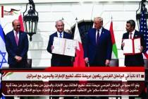 61 نائباً في البرلمان الفرنسي يقعون عريضة تنتقد تطبيع الإمارات والبحرين مع اسرائيل