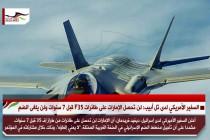 السفير الأمريكي لدى تل أبيب: لن تحصل الإمارات على طائرات F35 قبل 7 سنوات ولن يلغى الضم